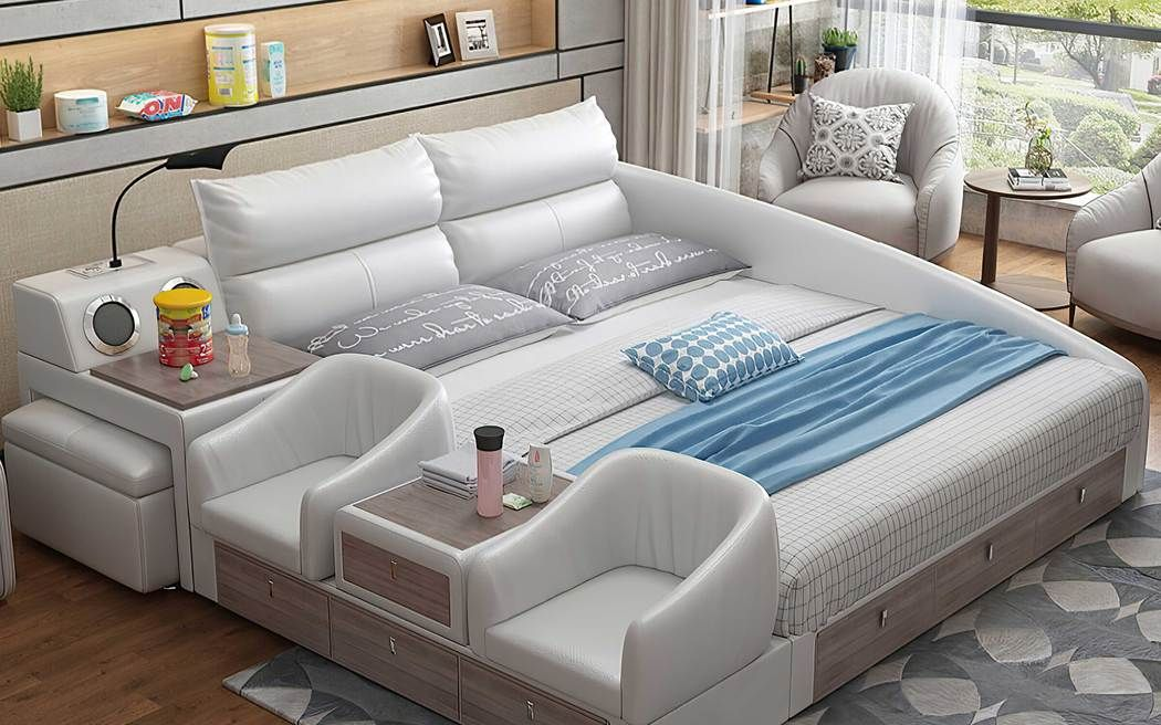 ULTIMATE BED | MULTIFUNCTIONAL BED | SMART BED | TECH BED – Jubilee Furniture