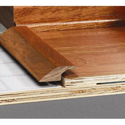 Artistic Finishes 0 58 X 2 27 X 78 Red Oak Overlap Reducer Wayfair Artistic Finishes Wood Floors Red Oak