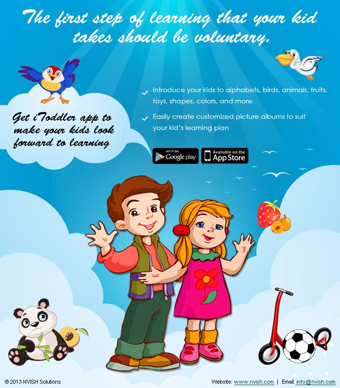 Learning App For Toddlers On Android Smartphones.
