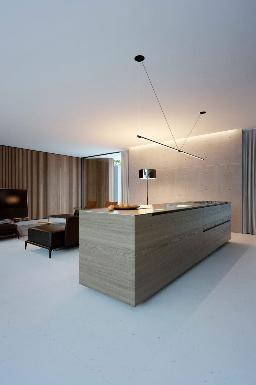 piano house by line architects pinterest k che innenarchitektur und neubau. Black Bedroom Furniture Sets. Home Design Ideas
