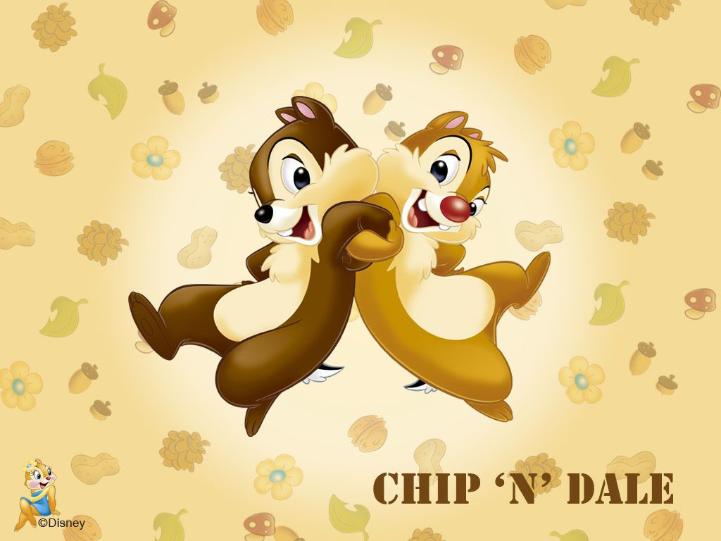 chip n Dale desktop | animali | Pinterest