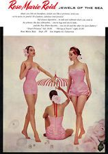e723fdb2a2 Rose Marie Reid Bathing Suit JEWELS OF THE SEA Pearl Princess 1954 Print Ad