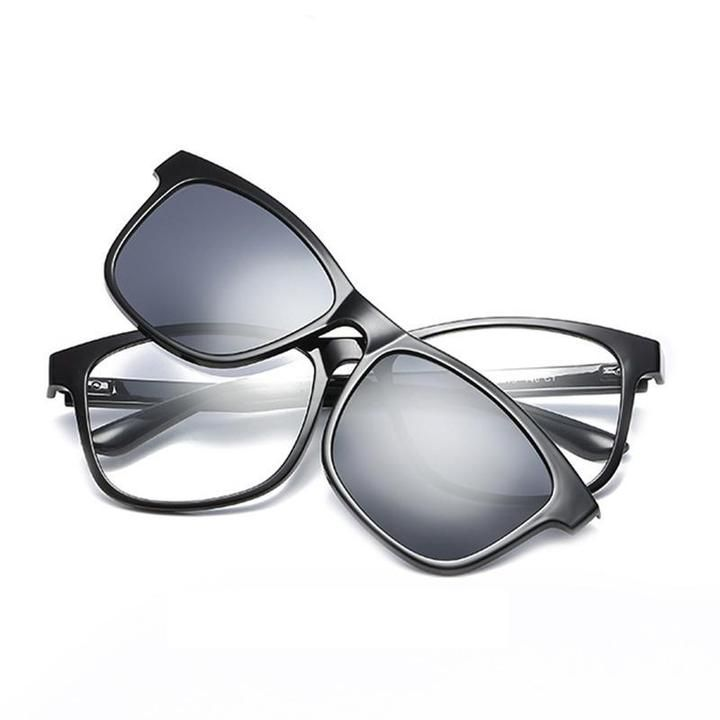 f4e055c7e7eaae Fashion Optical Eyeglasses Frame Men Women Clip On Magnets Polarized S –  novahe