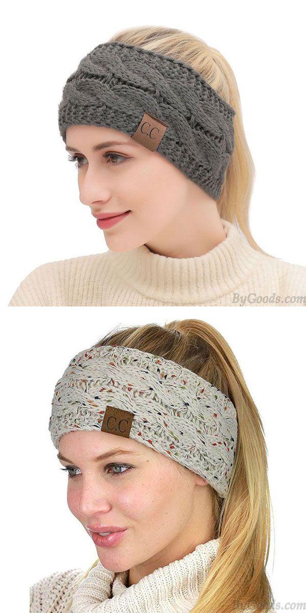 Winter Hair Wool Pompom Fur Headbands Hair Band Girls Fashion Women Accessories