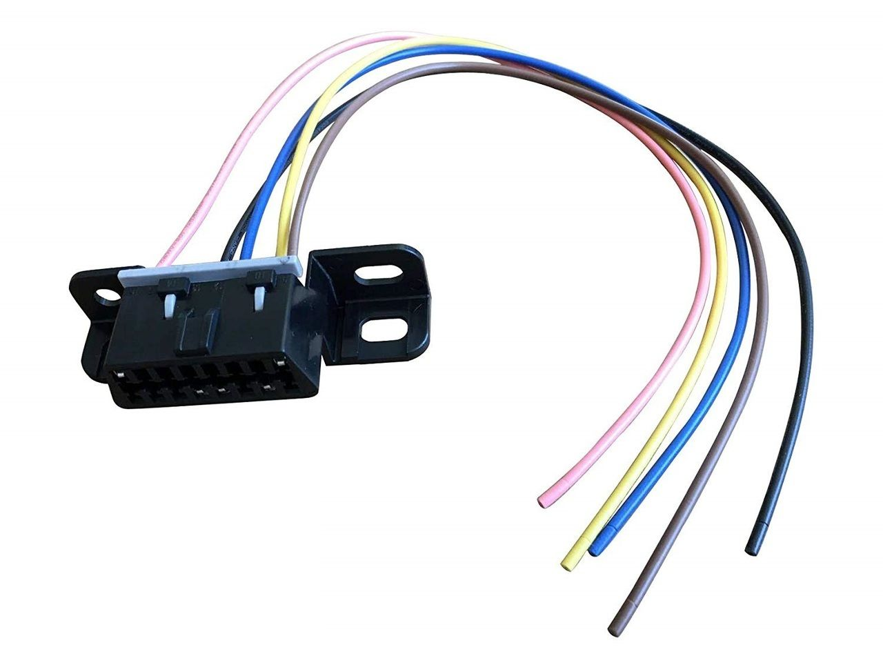 A Team Performance Obd Ii Obd2 Dash Port Wire Pigtail Wiring Harness Plug In Cable Connector Compatible With Chevy Gmc Ls Lsx Ls1 Ls2 Ls3 Ls6 Ls7 L92 Lq4 Lm7 4 Obd