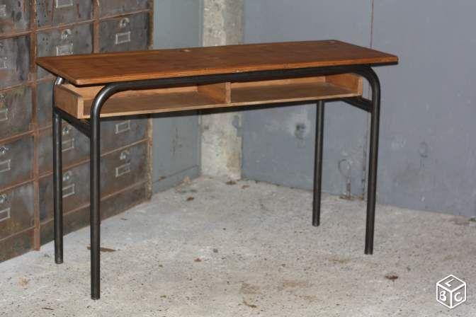 Table Ou Bureau D Ecolier Vintage Ameublement Yvelines Leboncoin Fr Bureau Ecolier Ameublement Bureau