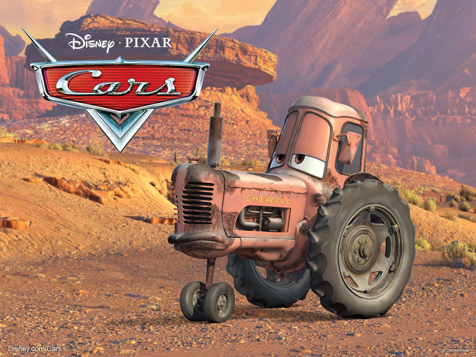 The Tractor From Cars So Adorable With Images Cars Movie