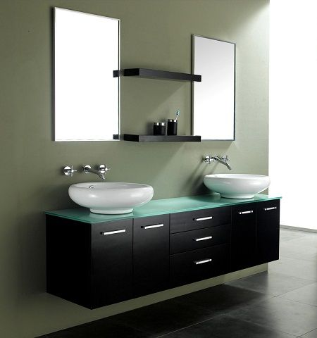 Wall Mounted Bathroom Vanities And Why They Sometimes Have Legs Modern Bathroom Design Modern Bathroom Vanity Contemporary Bathroom Sinks