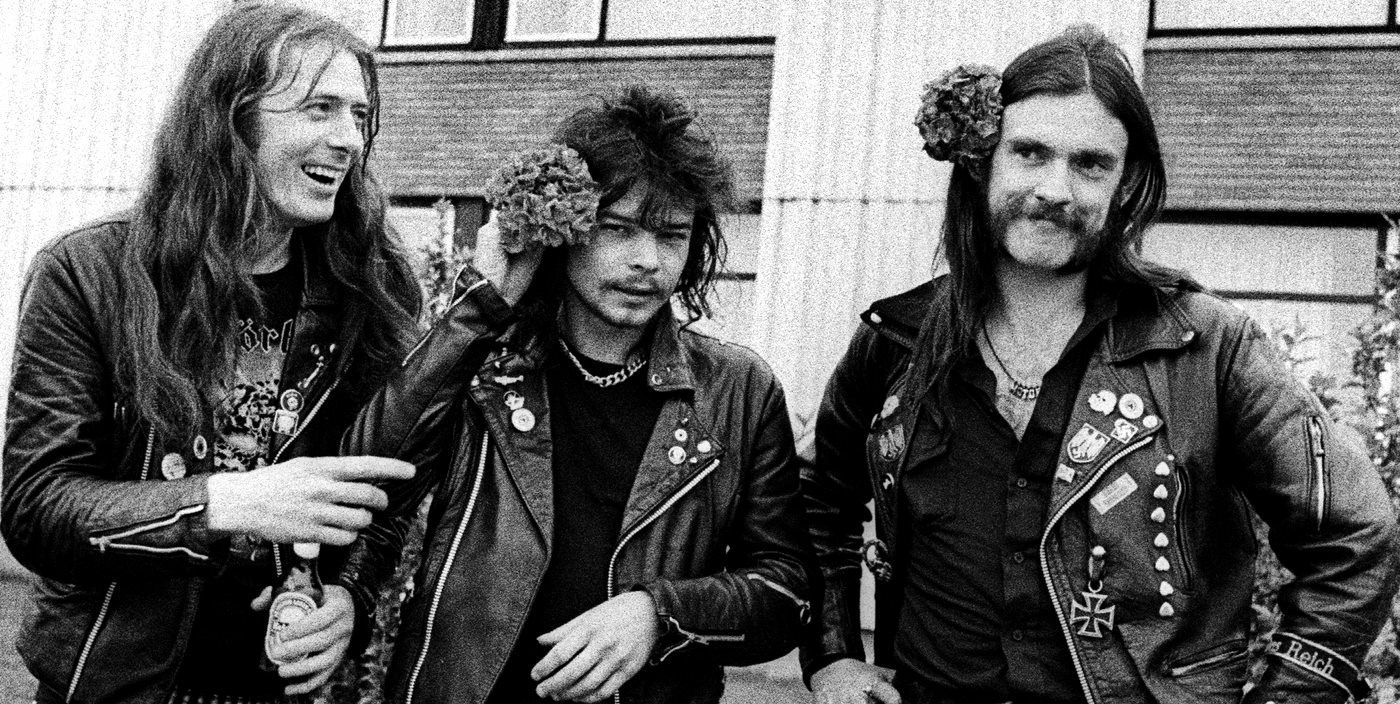 Fast Eddie Clarke & Philthy Animal Taylor & Lemmy Kilmister ...