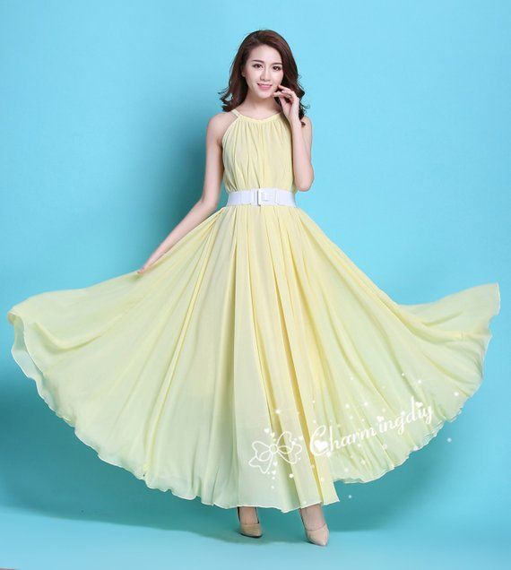Dresses Light Yellow Baby Shower