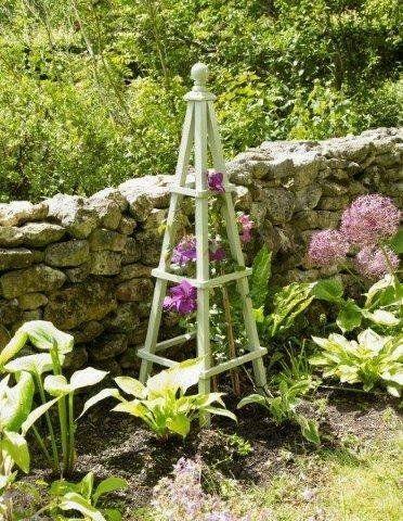 Obelisco di legno: Amazon.co.uk: Giardino e tempo libero