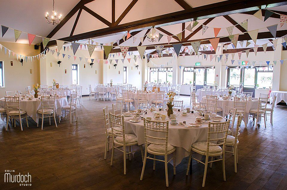 Anna liams wedding at ox pasture hall hotel scarborough diy vintage decoration for an afternoon tea wedding breakfast ox pasture hall hotel scarborough junglespirit Images