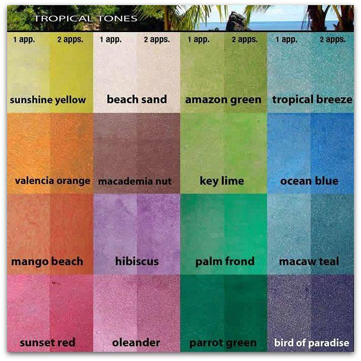 Desert Dreaming Color Inspiration The Tropics Tropical Colors Concrete Dye Stained Concrete
