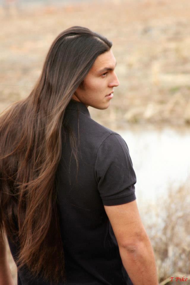 Native American Men Hairstyles : native, american, hairstyles, Conigliaro, Beautiful, Warriors, Styles, Native, American, Models,