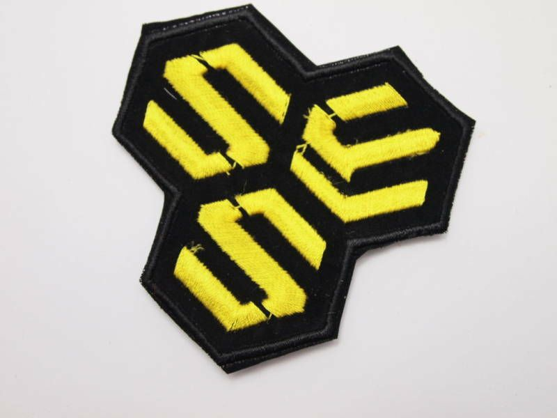 Anime Macross Frontier F S.M.S Logo Jacket Cosplay Patch Badge
