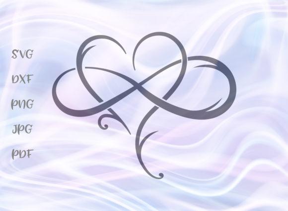 Infinity Heart SVG Heart with infinity tattoo, Infinity