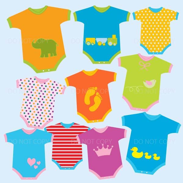 4329a52a2 Baby Clothes Clipart