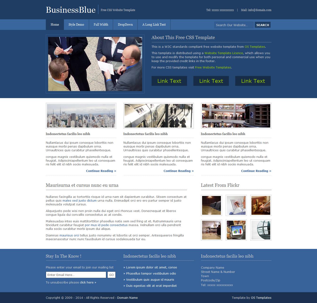Plantilla en #psd para abogados. #TAVnews   Photoshop a tu alcance ...