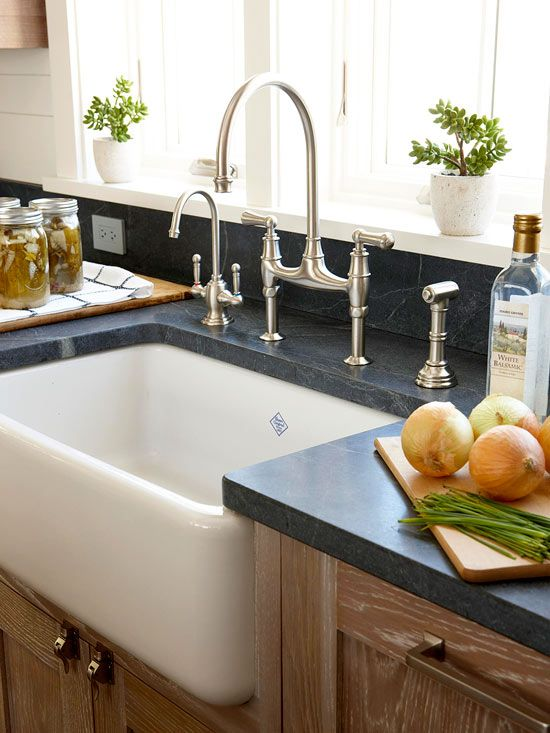 Ultimate Guide To Kitchen Sinks And Faucets Cottage Style