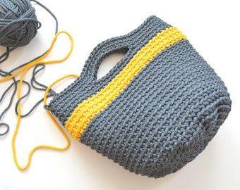 Artículos similares a Bolsos, bolso de cuerda, saco gorros tejido, pañaleras, bolsa de ganchillo, bolso del mercado, bolso de totalizador, bolso de la playa, bolso vintage, bolso en Etsy