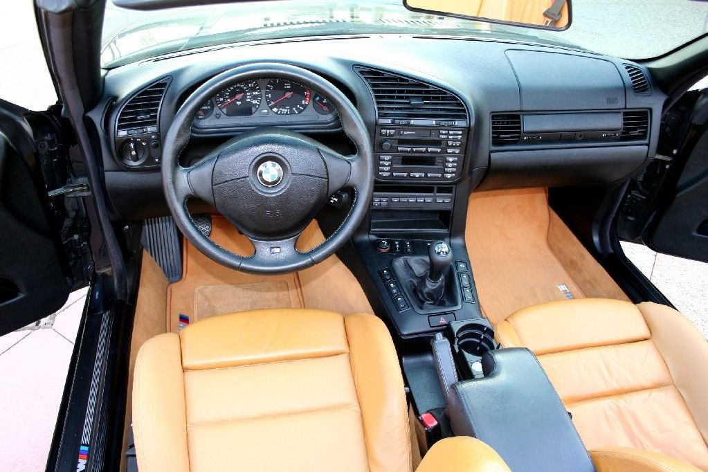 BMW e36 interior with camel seats | auto | Bmw e36, Bmw ...