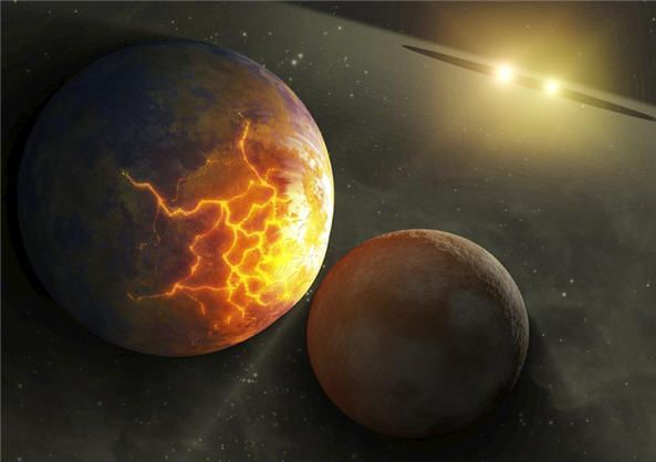 Pulverized Planet Dust discovered around Double Star Systems