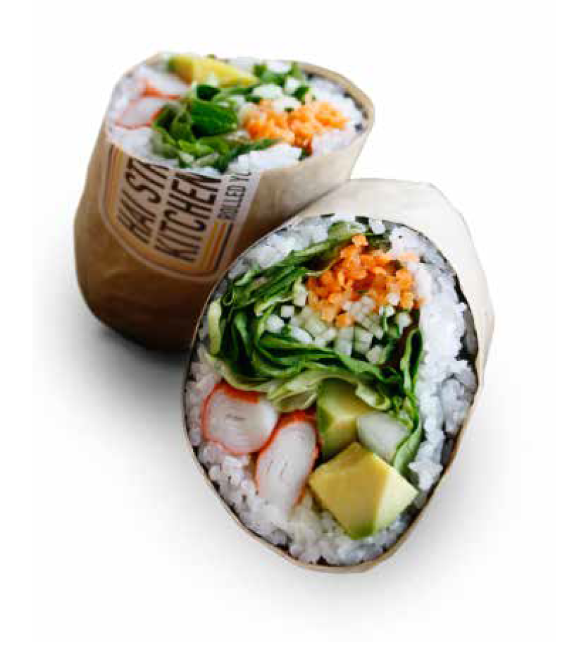 Sushirrito Sushi And Burrito Combo Food Yummy Food Hungry