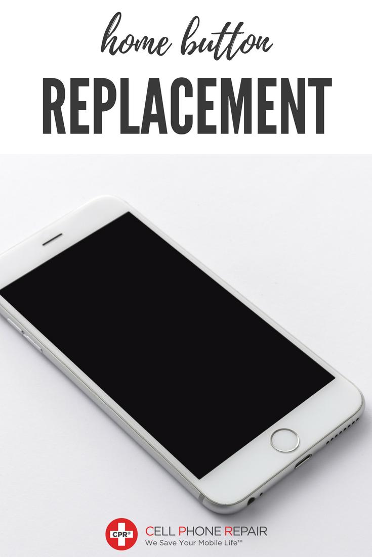 Home Button Replacement & Repair - Cell Phone Repair | CPR Repair