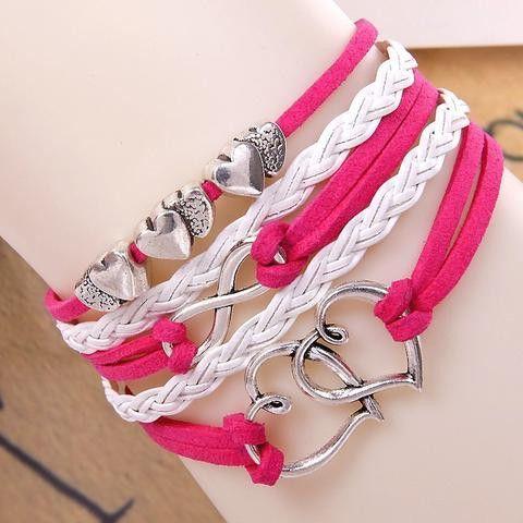 Women's Handmade Infinity Bracelets