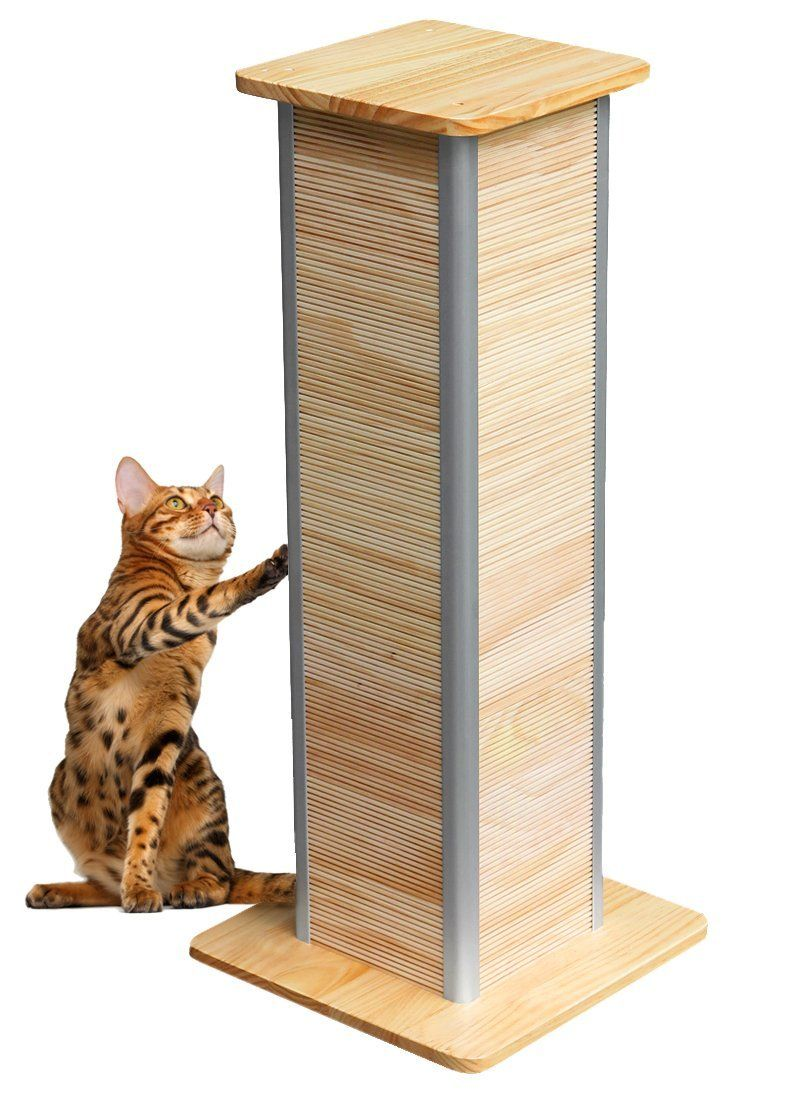Catswall Design Sculpted CatScraper Tower, 16' by 16' by