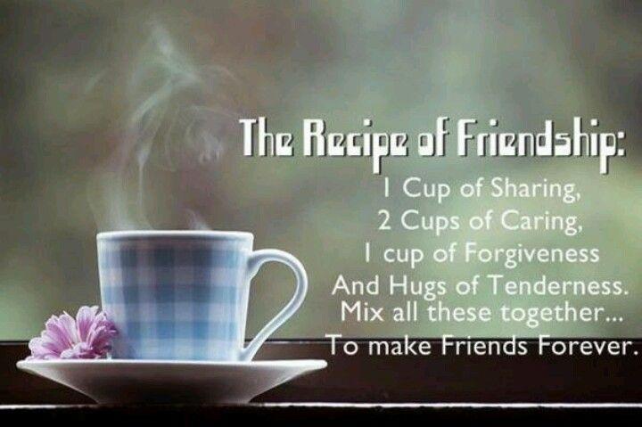 The Recipe Of Friendship U003c3