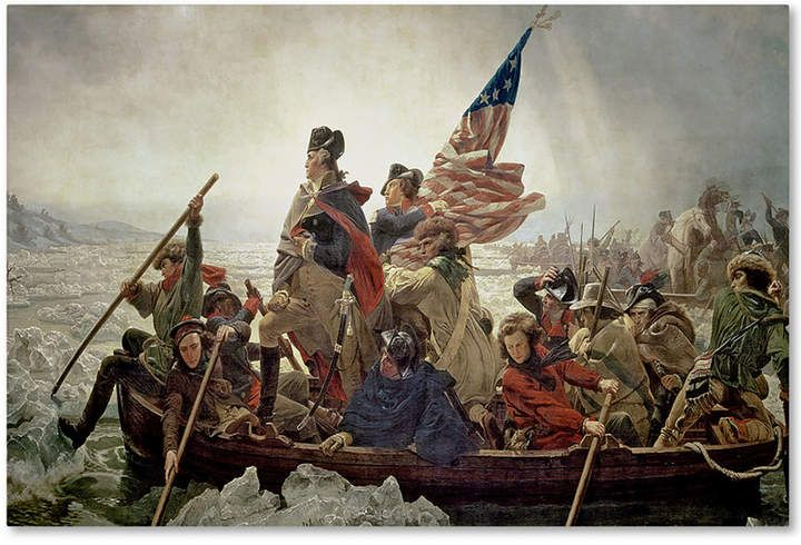 Emanuel Leutze \u0027Washington Crossing Delaware River in 1776\u0027 30\