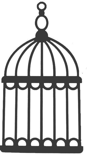 Cage Oiseaux Silhouette Cameo Pinterest Silhouette Pochoir