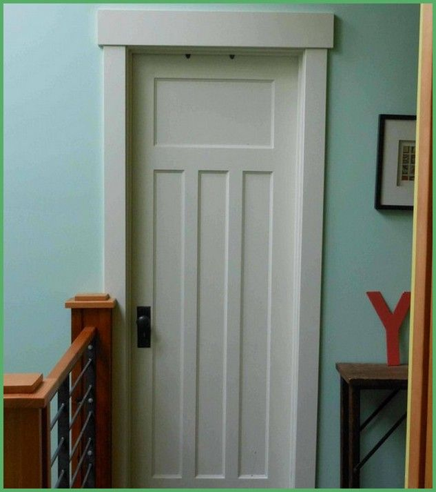 Fake Wood Door Trim Interior Home Decor Interior Door Trim Craftsman Interior Doors Craftsman Style Doors