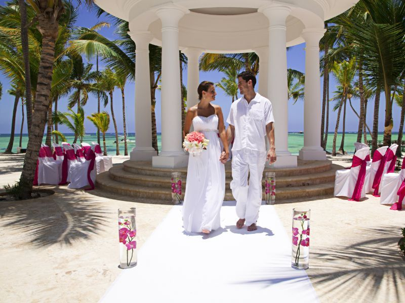 all inclusive beach wedding destinations%0A Beautiful destination wedding location  Barcel   B  varo Beach Resort Punta  Cana