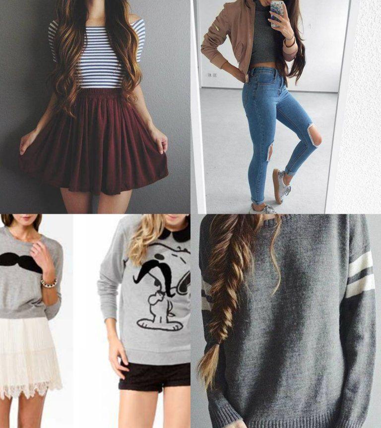 ropa de moda para adolescentes de 13 años >2018/19