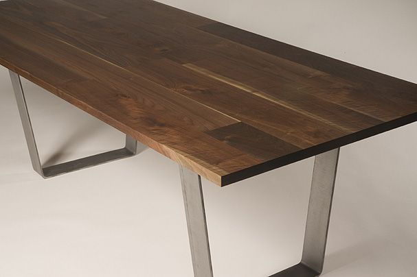 Quilted Black Walnut dining table Wickham Solid Wood Studio