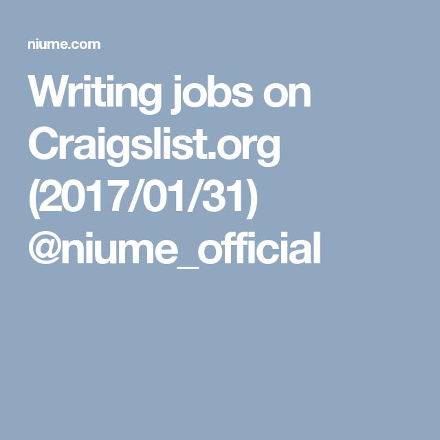 Craigslist Dc Jobs Domestic
