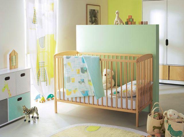 chambre de b b 25 id es pour un gar on elle. Black Bedroom Furniture Sets. Home Design Ideas
