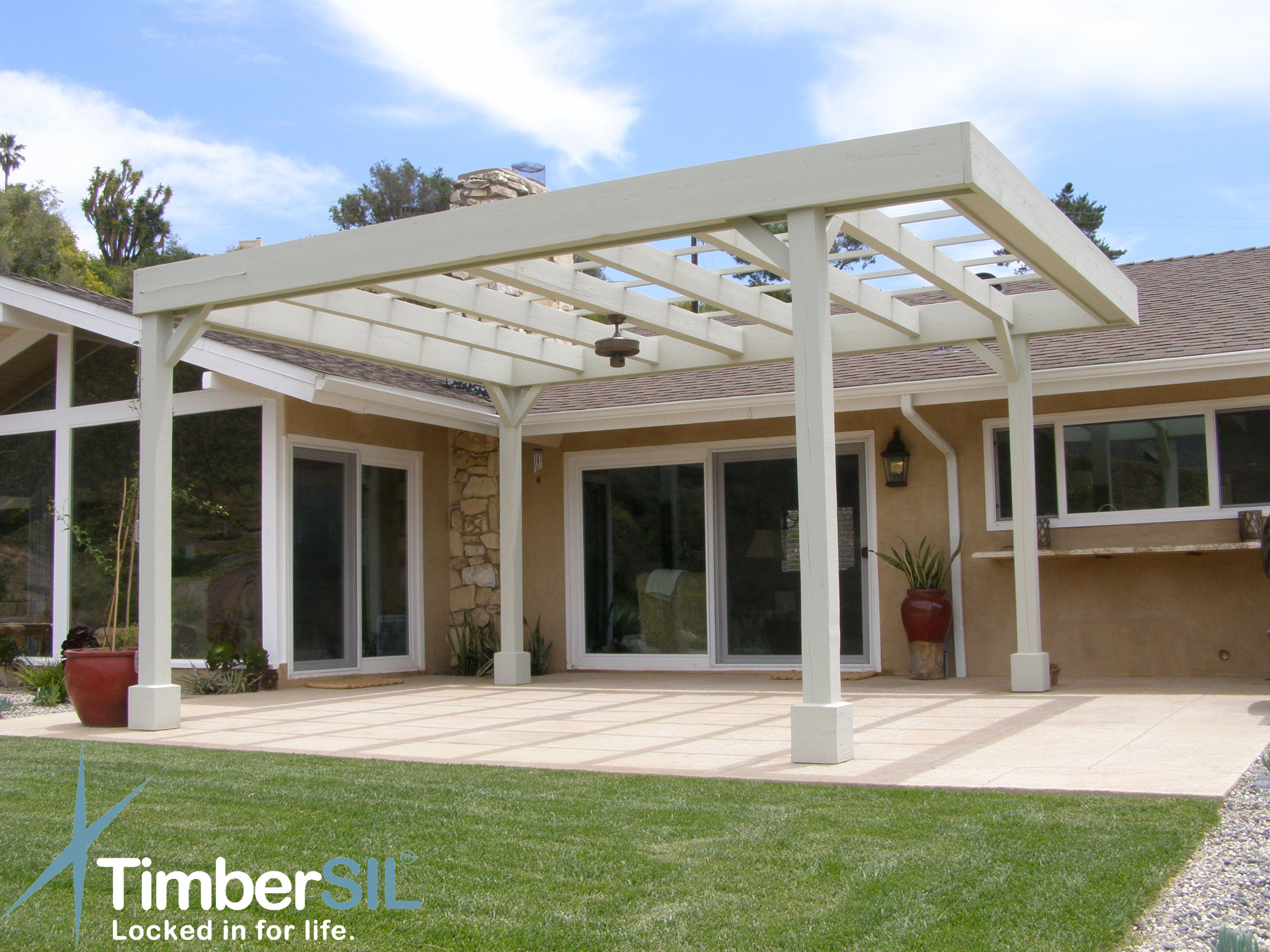 Timbersil Wood Pergola Class A Fire Rated Outside Home Free Standing Pergola Wood Pergola Pergola Pictures