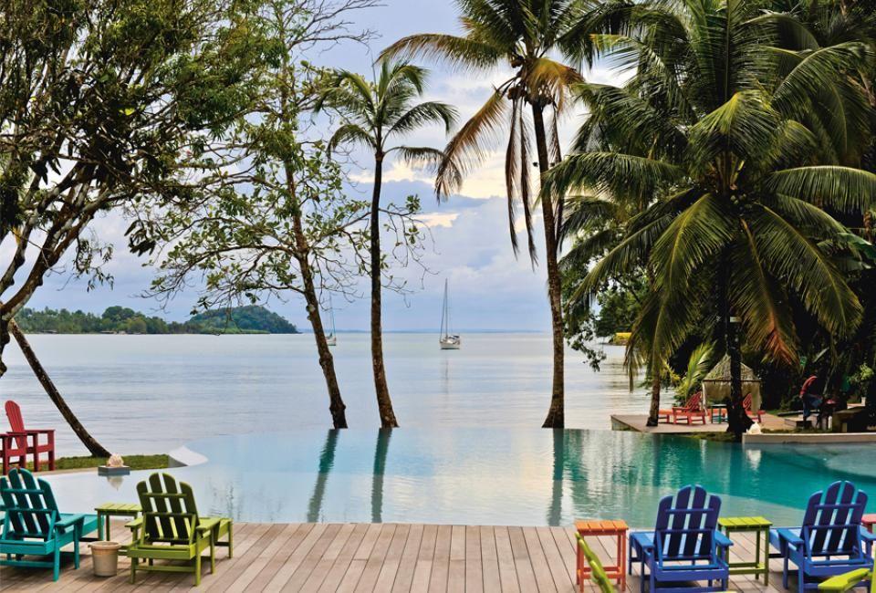 El Otro Lado, Luxury boutique hotel in Panama's Portobelo National Park #honeymoon #travel #vacation