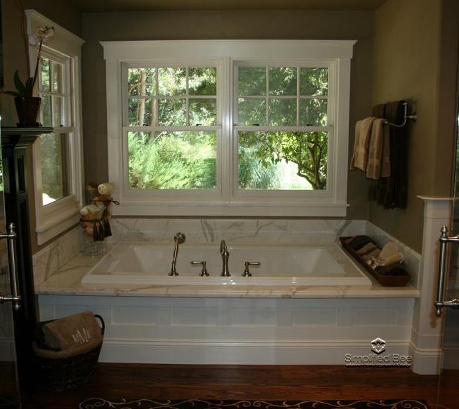Best 25 decorating around bathtub ideas on pinterest bathtub remodel bathtub ideas and guest for How to decorate a garden tub bathroom