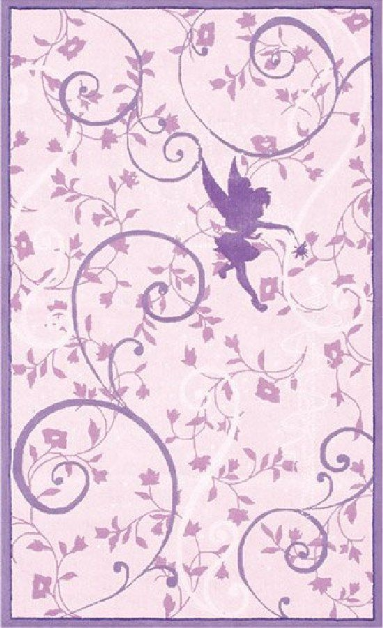 Disney Purple Tinkerbell Area Rug   Incredible Bedroom, Play Room, And  Nursery Decor For Boys And Girls Rooms At Kids Decorating Ideas