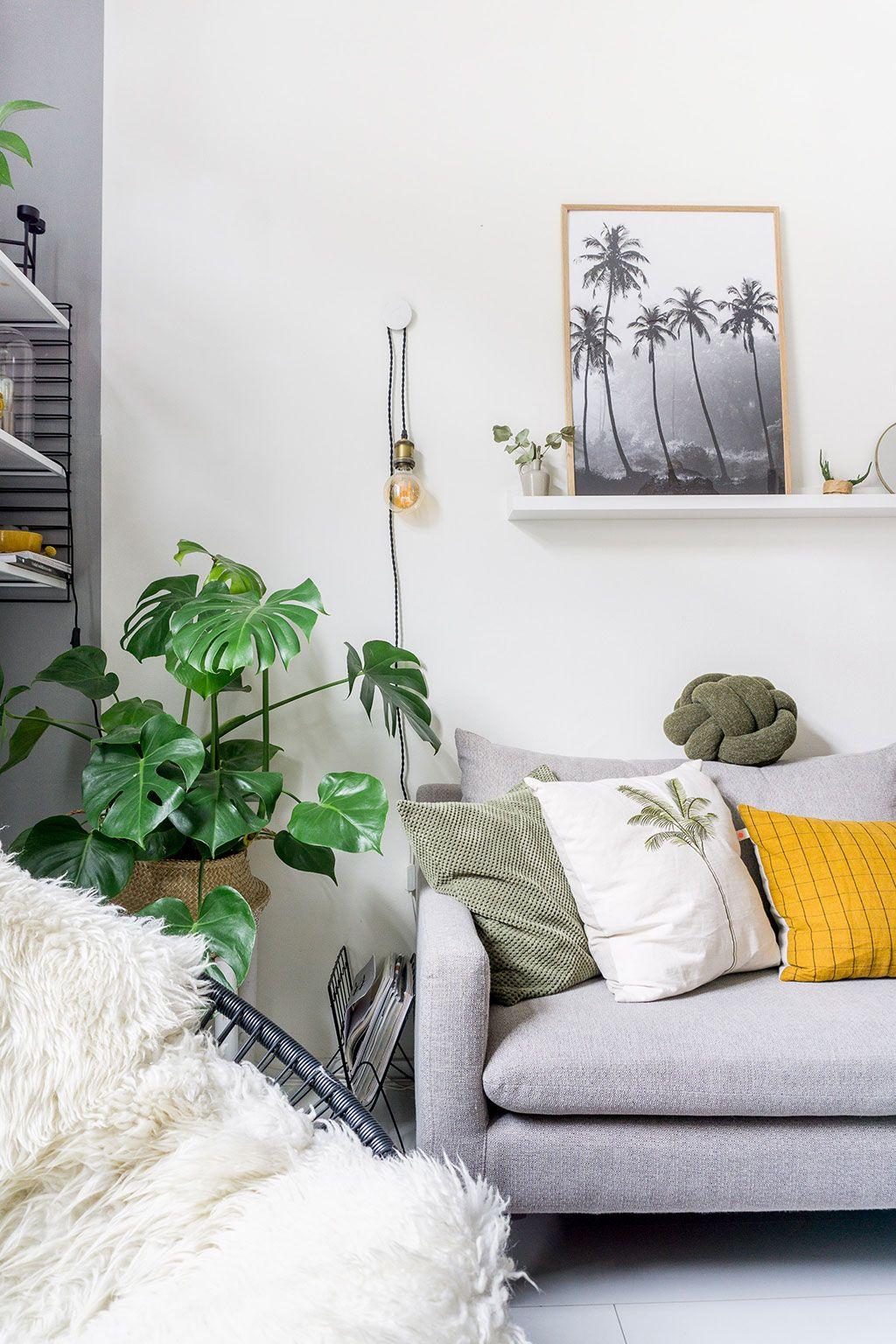Ideeen Opdoen Voor Woonkamer.Binnenkijken Bij Sifra Het Huis Als Hobby Groen Interieur