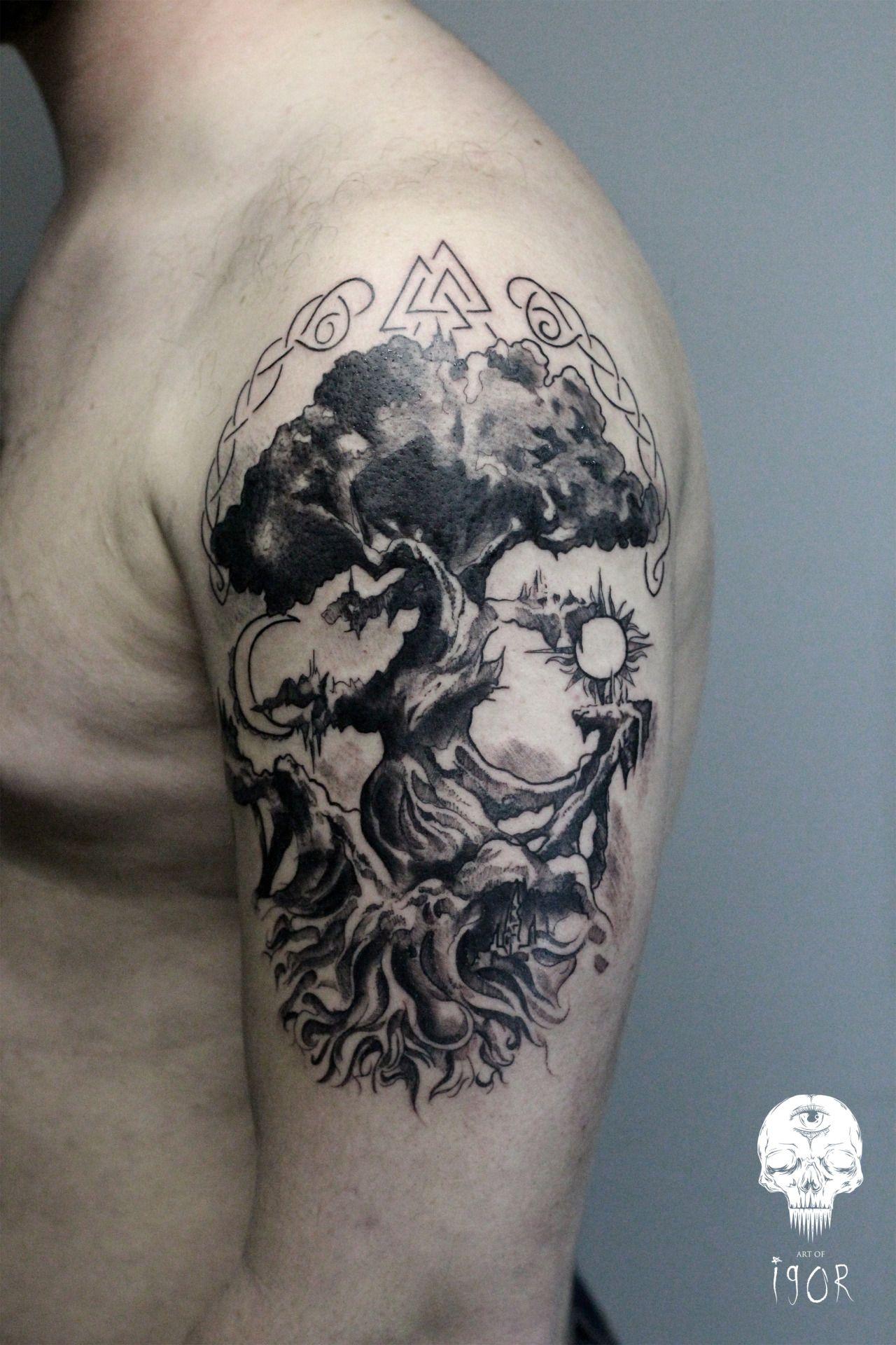 Viking Tattoo 89 Viking tattoos, Viking tattoo design