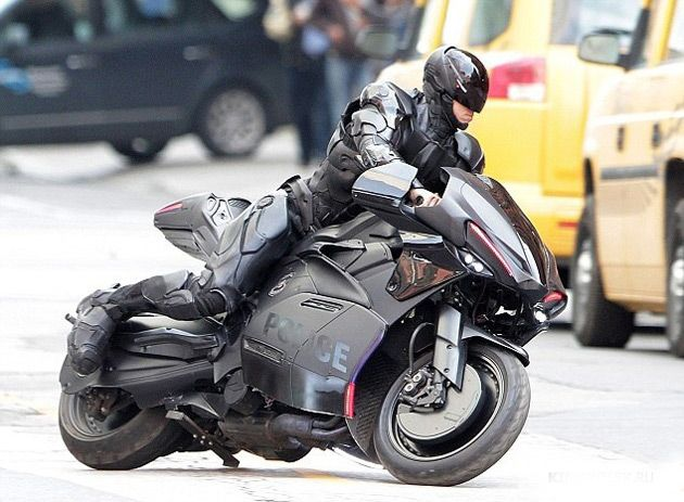 First Trailer For The New Robocop Movie Motorcycles Bikes