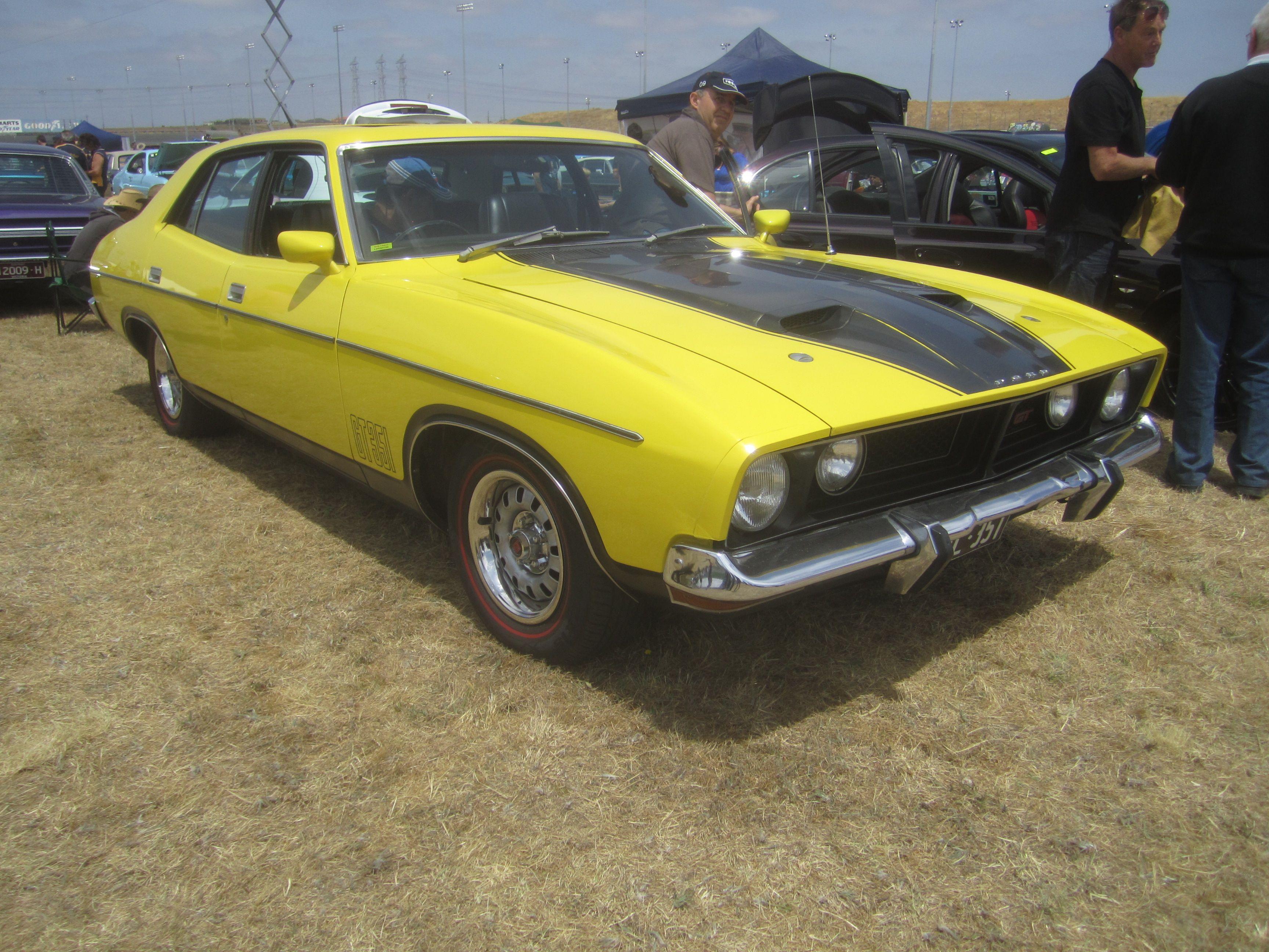 ford falcon xb gt 1974 мощность двигателя
