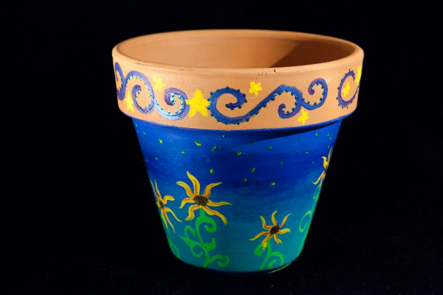 Hand Painted Terracotta Pots For Sale Painted Terra Cotta Pots Painted Flower Pots Painted Pots