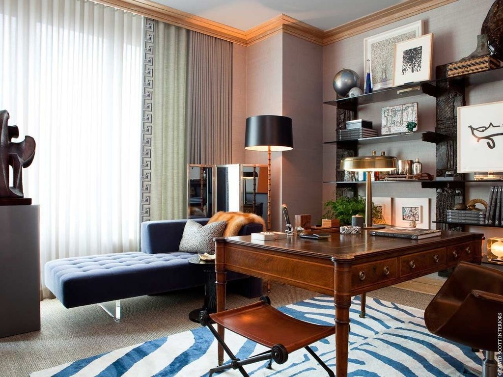 Attractive View This Great Contemporary Home Office With Built In Bookshelf U0026 Carpet  By David Scott. Discover U0026 Browse Thousands Of Other Home Design Ideas On  Zillow ...