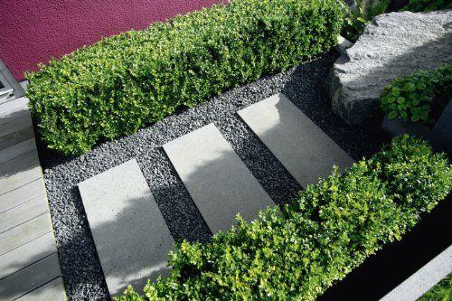 Moderne Gartenarchitektur - minimalistisch, formal, puristisch - gartenarchitektur